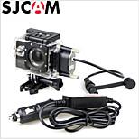 sjcam motocicleta marca caixa estanque para a série sjcam sj4000 original para sj4000