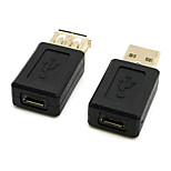 CY® Female Micro USB to Female USB 2.0 Adapter for Phones and Tablets