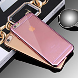 Ultra-Thin Hot Fashion Electroplating Protect TPU Soft Case for iPhone 6/6s(Assorted Colors)