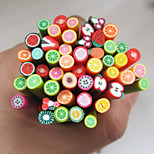 50pcs Nail Art Fimo Gute Fruit