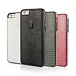 Luxury Crocodile Grain Design PU+TPU Cover Funda For Iphone6 Iphone6S (Assorted Color)