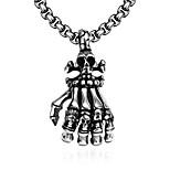 Fashion jewelry pendant necklaces Maya Punk Stainless Steel necklace for men claw pendant GMYN049