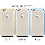 diamante en polvo shell flash de galvanoplastia cáscara del teléfono móvil para el iPhone6 más / 6s iphone plus (colores surtidos)