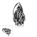 Ring Stainless Steel Skull / Skeleton Silver Jewelry Halloween Daily Casual Sports Christmas Gifts 1pc