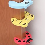 Door Security Door Card Carmen File Children Cartoon Baby Door Stopper Door Clamp Pinch Hand Security Card(Random Color)