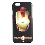 Iron Robot Pattern 3D Print Embossed TPU Soft Back Case for iphone6plus/6splus
