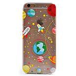 Astronauts Pattern TPU Soft Case Phone Case iPhone 6/6S