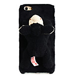 Cute Plush Animals Case Black Sheep for Iphone6/6s