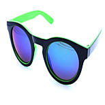 Sunglasses Unisex's Classic / Retro/Vintage Cat-eye White / Yellow / Green Sunglasses / Goggles Full-Rim