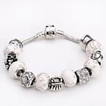 Fashion Jewelry Bracelets&brangle Glass European Beads bracelets for Women Gift Strand Beads bracelets BLH079
