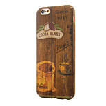 Vintage Wood Grain~4 PC With Painting Back Case For Iphone5,5S