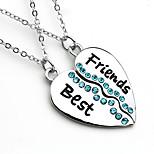 Best Friend Letter Fashion Pendant Necklace