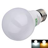 Bombillas LED de Globo Decorativa YWXLIGHT A60(A19) E26/E27 8W 16 SMD 2835 600 lm Blanco Cálido / Blanco Fresco AC 100-240 V 1 pieza