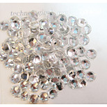 1440pcs/pack White Colors DIY Crystal Glass Designs Nail Art Rhinestones 3d Decoration Diamond NC238
