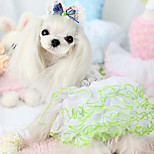 Dog Coat White / Blue / Pink Summer Fashion