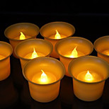 Small LED Cup Shaped Candle for Birthday Christmas Party LED Birthday Candle