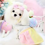 Dog Hoodie Blue / Pink / Yellow Winter Classic Fashion