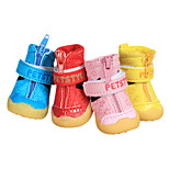 Dog Socks & Boots Pink Winter Fashion