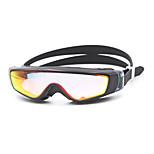 Unisex Swimming Goggles Pink / Black / Blue / Dark Blue / Purple Anti-Fog PC Silica Gel