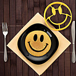 Silicone Crack A Smile Smiley Happy Face Egg Pancake Mold Shaper Pancake Rings Cooking Mould