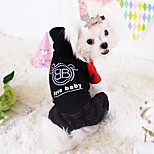 Dog Coat Red / Black Winter Fashion
