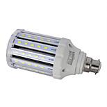 1 stk. LEDUN B22 24W 78PCS SMD 5730 100LM/W LM Varm hvid / Naturlig hvid T Dekorativ LED-kolbepærer AC 85-265 V