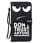 Eye Pattern PU Leather Full Body Case with Stand for Sony Z5