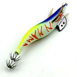3pcs 4.0# Luminous Squid Jig 155mm 22.7g Fishing Lures Random Colors