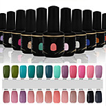 Newest Popular Top Fashion  Soak-off UV & LED Gel Polish (15ml,49-72 Colors)