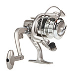 6 Ball Bearings Spinning Reels Gear Ratio 5.1:1 Exchangable hand Spinning Fishing Reel -SG3000 Random Colors