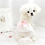 Dog Coat White Summer Fashion