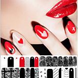 1-Autre décorations-Doigt- enBande dessinée / Fleur / Abstrait / Adorable / Punk / Mariage-14.5*7.5
