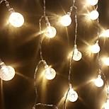kuningas ro uusi 30led puu kristallipallo merkkijono valoa (kl0044-RGB, valkoinen, lämmin valkoinen)