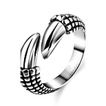 Ring Jewelry Steel Fashion Black Jewelry Halloween Daily Casual 1pc