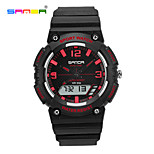 SANDA® 30 m Waterproof, Japan Movement And Battery, Double Display Sports Watch Wrist Watch Cool Watch Unique Watch