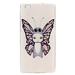 Angel Pattern TPU Material Phone Case for Huawei P8 Lite/Huawei Ascend G7
