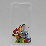 Crazy Animal City~7 TPU Back Case For Iphone 6Plus/6S Plus