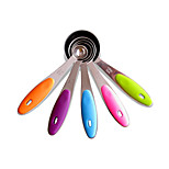 Staineless Steel Measuring Spoon 5 Piece Stainless  Includes: 1.25ml,2.5ml,/5ml/7.5ml/15ml