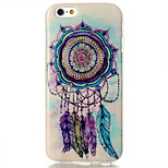 Mandala Dream Catcher Pattern TPU Back Case for iPhone 6/6S