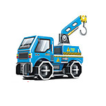 Engineering vehicles 3D Puzzles DIY Toys