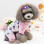 Cani Cappottini-Inverno-Di tendenzaRosa- diCotone