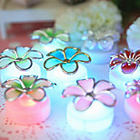 Flower Decorated LED Candle for Birthday Christmas Party LED Birthday Candle