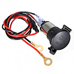12V 120W Car Motorcycle  Lighter Power Socket 60cm Cord