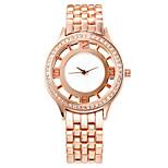 COMTEX   Women's. Rose Gold Quartz Watch With Steel SYL159004
