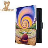 Custodia in pelle Smart Cover stampata di protezione per kobo tocco 2.0 Daydream caso lumaca (2015) eReader ebook