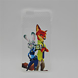 Crazy Animal City~5 TPU Back Case For Iphone 6Plus/6S Plus