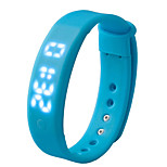A6 All Day 3D Smart LED Waterproof Bracelet Smart Wristband