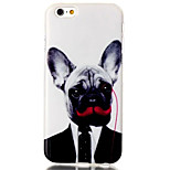 Dog Pattern TPU Material Phone Case for iPhone 6/6S