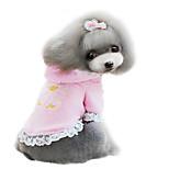 Hunde Mäntel Rosa / Purpur Winter Modisch