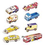 Eight Cars 3D Puzzles Car Set (122 pcs)
